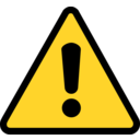 Portal home clipart warning icon bd68 1
